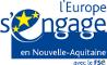 logo du Fond social européen pour la Nouvelle Aquitaine